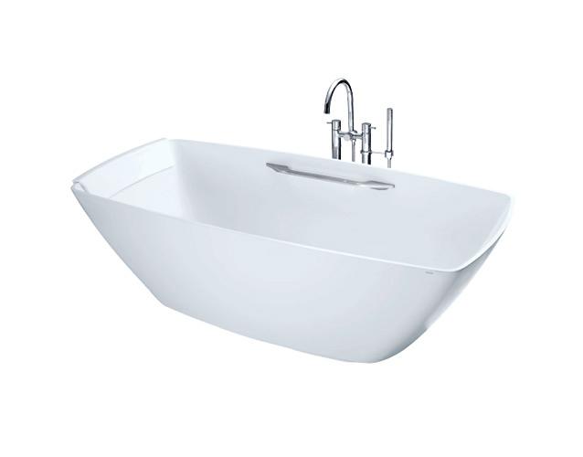 Bồn tắm nhựa FRP cao cấp đặt sàn PJY1804HPWE/NTP011E