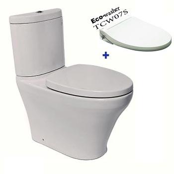 Bồn cầu toto hai khối Eco Washer CST818DRE2 (CS818DE2)