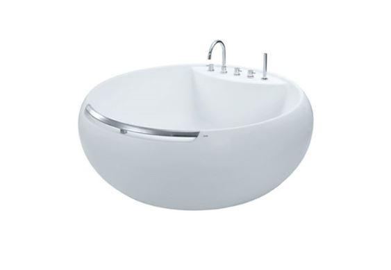 Sản phẩm bồn tắm nhựa FRP cao cấp đặt sàn TOTO PJY1604HPWE#GW