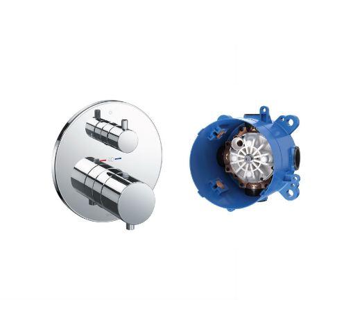 Van điều chỉnh nhiệt độ TOTO TBV01408B/TBN01001B
