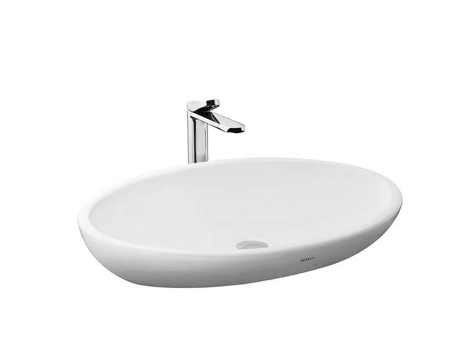 Chậu rửa đặt bàn TOTO LW818JW/F