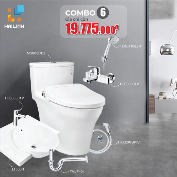 Combo 6: thiết bị vệ sinh TOTO