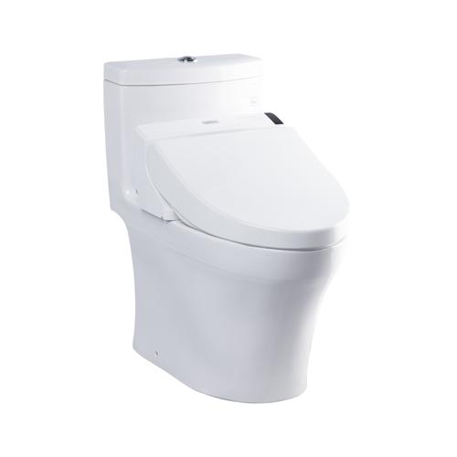Bồn cầu 1 khối kèm nắp rửa Washlet MS889DW6