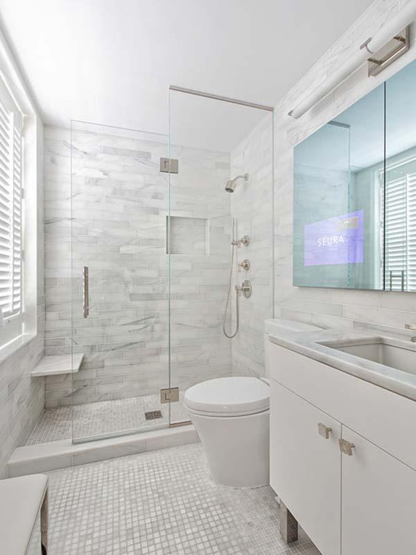 Top 32 mẫu nội thất phòng tắm, nhà tắm cao cấp NHẤT