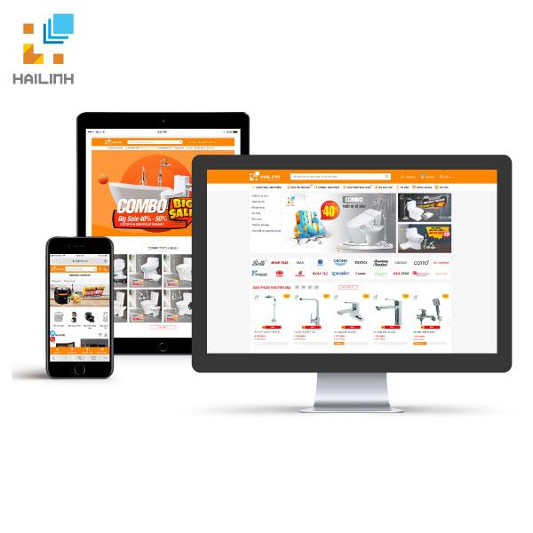 Website thuong mai dien tu Hailinh.vn